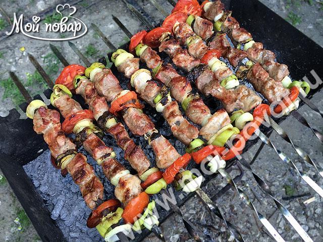 Армянский шашлык из свинины. Все секреты!